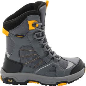Jack Wolfskin Snow Ride Texapore Winter Boots Jungen burly yellow xt